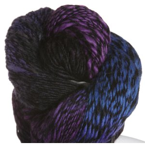 Lorna's Laces Black Sheep Yarn - Blueberry Snowcone