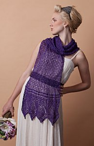 Lorna's Laces Helen's Lace Trousseau Wrap Kit - Scarf and Shawls