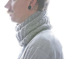 Tahki Tara Tweed Tilt Cowl Kit - Scarf and Shawls