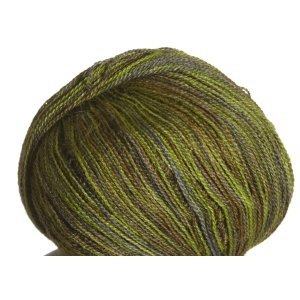 Classic Elite Silky Alpaca Lace Hand Paint Yarn - 2497 Olive Moss