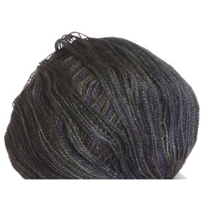 Classic Elite Silky Alpaca Lace Hand Paint Yarn - 2457 Deep Blue Smoke