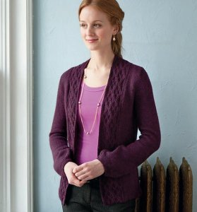 Berroco Ultra Alpaca Light Professoressa Cardigan Kit - Women's Cardigans