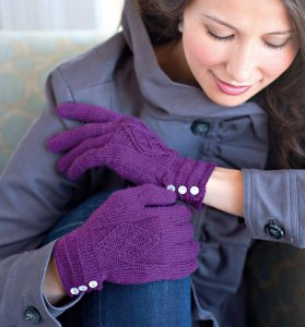 Cascade Heritage Sock Ornati Gloves Kit - Hats and Gloves