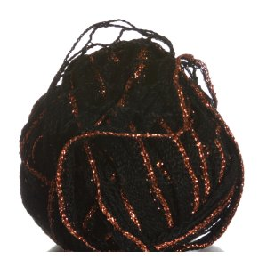 Filatura Di Crosa Moda Lame Yarn - 14 Onyx/Copper