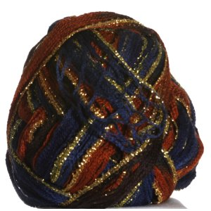 Euro Yarns Broadway Yarn - 18 Brown, Rust, Black