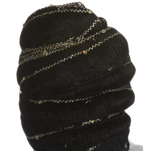 Euro Yarns Starstruck Yarn - 5 - Black with Gold