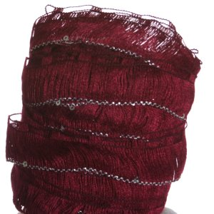 Euro Yarns Starstruck Yarn - 11 - Maroon with Silver