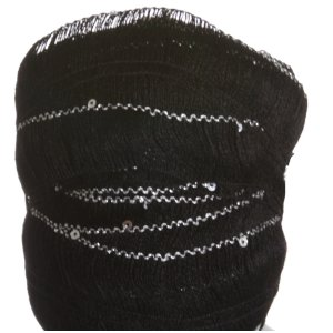 Euro Yarns Starstruck Yarn - 10 - Black with Silver