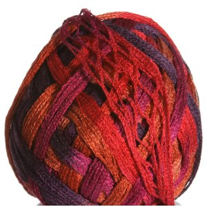 Knitting Fever Tricor Yarn - 05 - Purple, Red, Orange