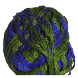 Knitting Fever Tricor Yarn - 06 - Blue, Green
