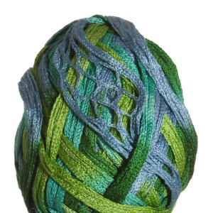 Knitting Fever Tricor Yarn - 09 - Green, Mint, Sky
