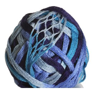 Knitting Fever Tricor Yarn - 10 - Navy, Teal, Sky