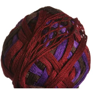 Knitting Fever Tricor Yarn - 11 - Brown, Red, Purple