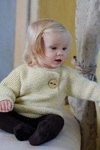Malabrigo Worsted Petite Facile Pullover Kit - Baby and Kids Pullovers