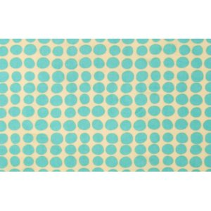 Amy Butler Love Flannel Fabric - Sunspots - Turquoise