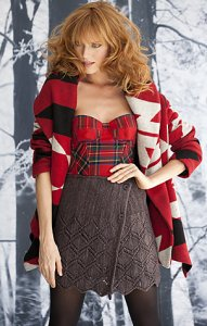 Koigu Kersti Buttoned Skirt Kit - Dresses and Skirts