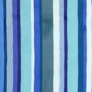 Valori Wells Urban Flannels Fabric - Stripe - Blue