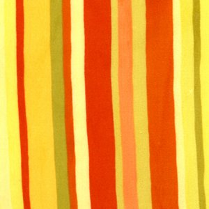 Valori Wells Urban Flannels Fabric - Stripe - Yellow