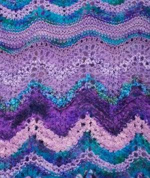 Colinette Absolutely Fabulous Throw Kit - Henry's Mauve