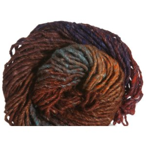 Noro Kama Yarn - 07 Red, Blue, Rust