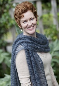Rowan Kidsilk Haze Kelly's Frothy Crocheted Scarf or Wrap  Kit - Crochet for Adults
