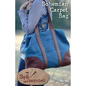 Sew Liberated Sewing Patterns - Bohemian Carpet Bag Pattern