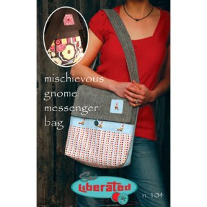 Sew Liberated Sewing Patterns - Mischievous Gnome Messenger Bag Pattern