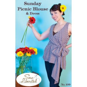 Sew Liberated Sewing Patterns - Sunday Picnic Blouse Pattern