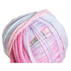 Classic Elite Liberty Wool Light Print Yarn - 6662 Watercolor Rainbow