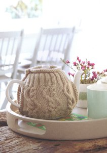 Debbie Bliss Cashmerino Aran Teapot Cozy Wrap Kit - Home Accessories