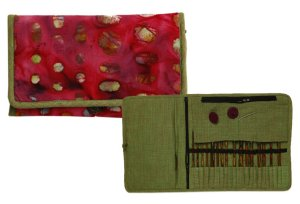 Knitter's Pride Fabric Interchangeable Needle Case - Eden Trail