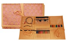 Knitter's Pride Fabric Assorted Needle Case - Orient Sheen