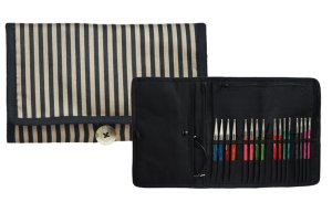 Knitter's Pride Fabric Interchangeable Needle Case - Ribbons