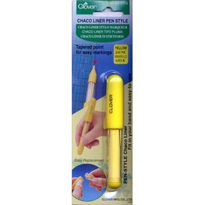Clover Chaco Liner Pen - Yellow
