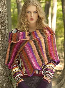 Noro Taiyo Striped Wrap Kit - Scarf and Shawls