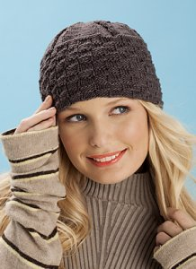 Koigu Kersti Basketweave Hat Kit - Hats and Gloves