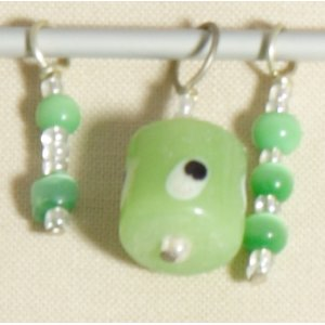 Knitter's Pride Zooni Stitch Markers - Grape Green