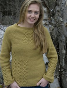 Classic Elite Liberty Wool Abigail Pullover Kit - Women's Pullovers