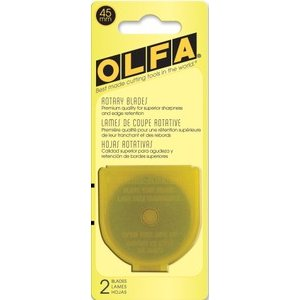 Olfa Rotary Replacement Blade - 45mm Rotary Blade