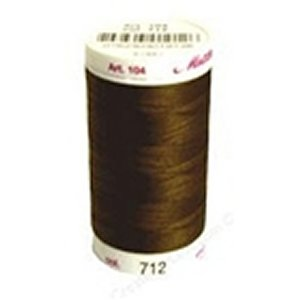 Mettler Cotton Thread (547yds) - 712 - Brown