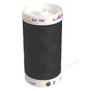 Mettler Cotton Thread (547yds) - S3 - Black (104-003)