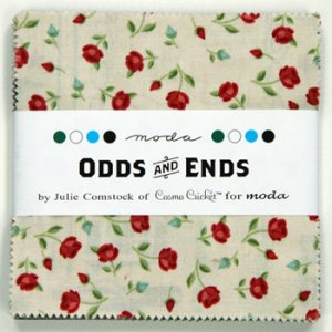 Julie Comstock Odds And Ends Precuts Fabric - Charm Pack