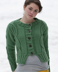 Classic Elite Toboggan Mogul Run Sweater Kit - Women's Cardigans