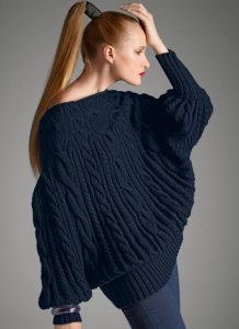 Bergere de France Origin Merinos Dolman Sleeve Pullover Kit - Women's Pullovers