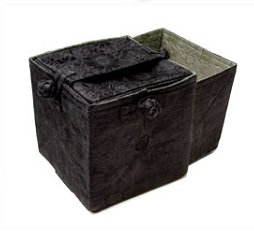 Lantern Moon Knit Out Box - Black and Sage