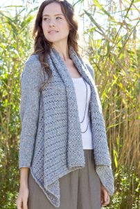 Berroco Flicker Pampero Sweater Kit - Women's Cardigans