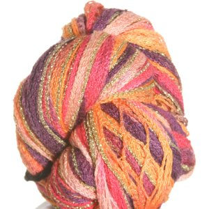 Filatura Di Crosa Moda Lame Long Print Yarn - 206 Sunset/Gold