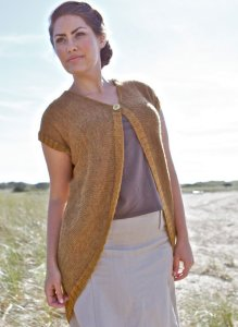 Berroco Ultra Alpaca and Ultra Alpaca Fine Vardar Cardigan Kit - Women's Cardigans