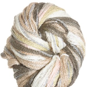 Filatura Di Crosa Moda Lame Long Print Yarn - 201 Birch/Silver