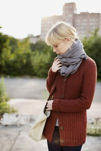 Cascade 220 Brooklyn Tweed Tinder Cardigan  Kit - Women's Cardigans